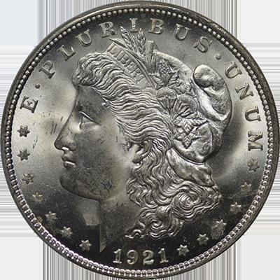 1921 MORGAN SILVER DOLLAR EXTRA FINE 1 OZ Of Silver