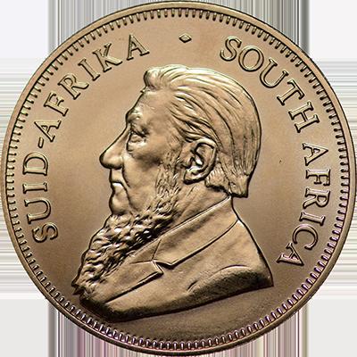 1 Oz South Africa Gold Krugerrands Bu