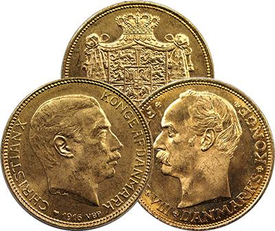 Denmark Gold 20 Kroner