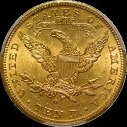$10 Liberty Coronet Motto 1903-O MS-63 PCGS